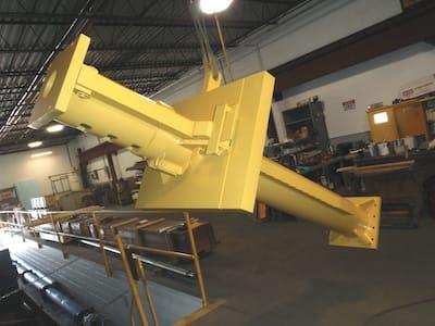 Yellow B and H Machine Cylinder